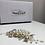 Thumbnail: Silver, Pearl & Crystal Hair Comb | Wedding Hair Jewelry