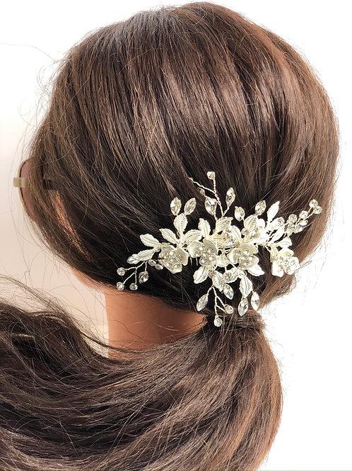 Wedding Bridal Hair Comb Vine Headpiece Wedding Headpiece With Pearls Rh