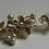 Thumbnail: Gold Flower & Pearl Headband | Gold, Pearl & Rhinestone Hair Vine | Hair Chain
