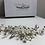 Thumbnail: Silver Flower, Rhinestone, Pearl & Crystal Hair Comb | Silver Bridal Hair Jewel