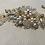 Thumbnail: Gold, Rhinestone, & Pearl Hair Comb | Gold, Rhinestone, & Pearl Hair Jewelry
