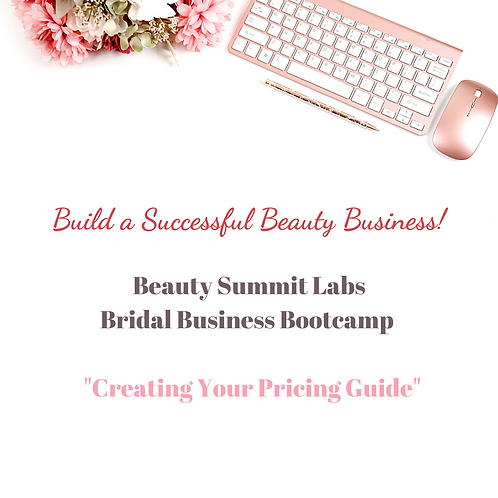 """Bridal Business Bootcamp 