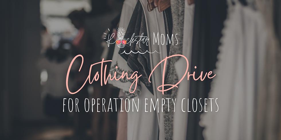 Rockstar Moms Clothing Drive