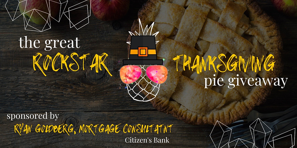 The Great Rockstar Thanksgiving Pie Giveaway