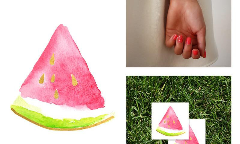 2 PACK Watermelon