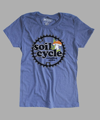Eco- Sweet Blue Recovered Tee