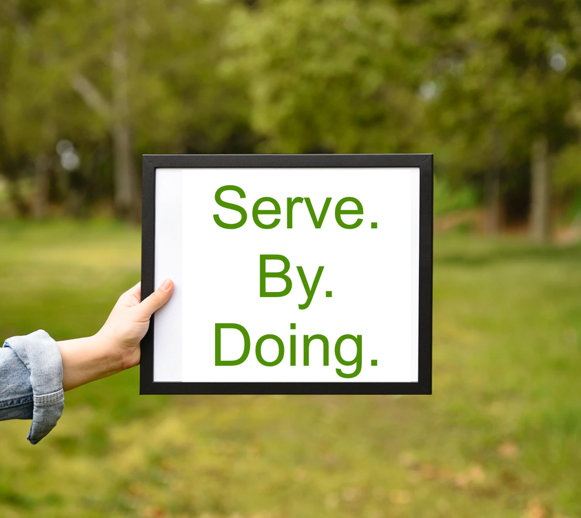 to serve each other and our community.