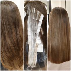 Vorher-Nachher Frisuren