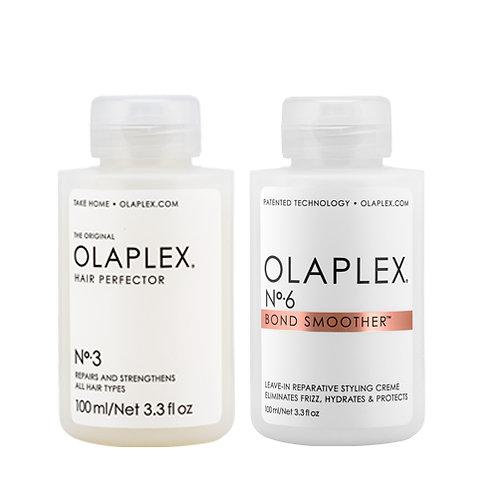Olaplex Hair Perfector No. 3 & Olaplex Bond Smoother No. 6