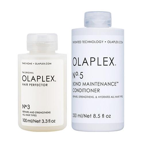 Olaplex Hair Perfector No. 3 & Olaplex Bond MaintenanceConditioner No. 5