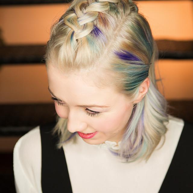 Fotoshooting Haarmodell