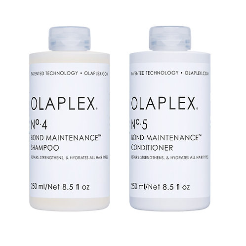 Olaplex Bond Maintenance Shampoo 4 & Olaplex Bond Maintenance Conditioner 5
