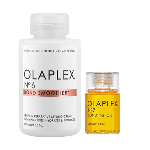 Olaplex Bond Smoother No. 6 & Olaplex Bonding Oil No. 7