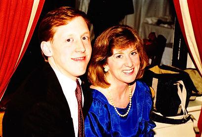 Kathy with her husband, Bob.