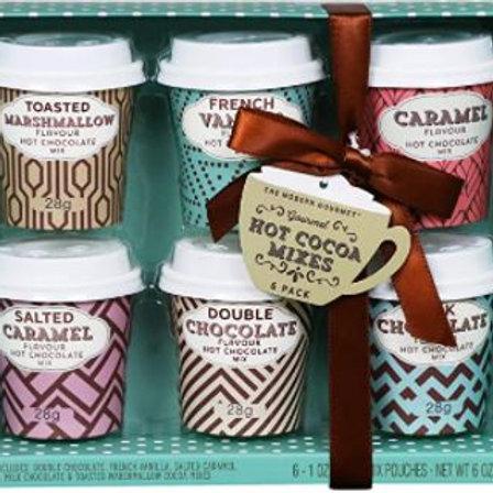 Set de con 6 Chocolates Calientes