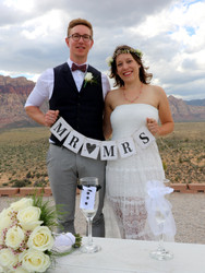 Heiraten im Red Rock Canyon