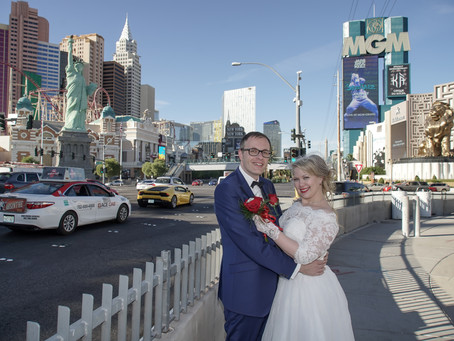 Heiraten in Las Vegas und dann auf Fototour