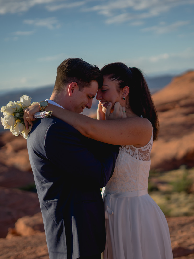 Heiraten im Valley of Fire