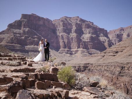Heiraten in Las Vegas und eine Zeremonie im Grand Canyon