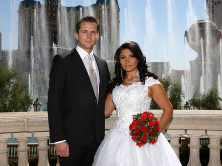 Traumhochzeit in Las Vegas heiraten im Bellagio