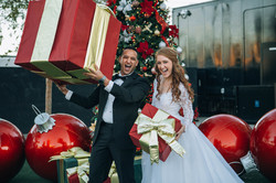 Und die Weihnachtsdeko in Las Vegas