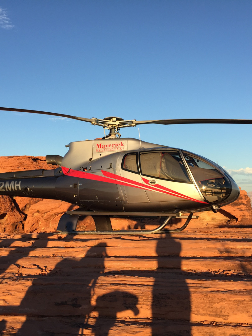 Heiraten im Valley of Fire mit dem Helikopter