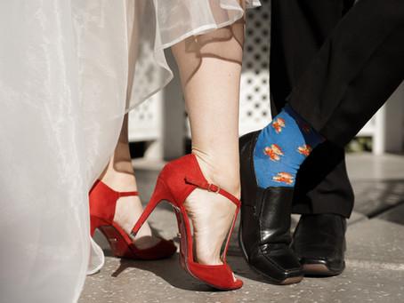 Heiraten in Las Vegas, wer sich traut oder die Braut mit den Roten Schuhen!