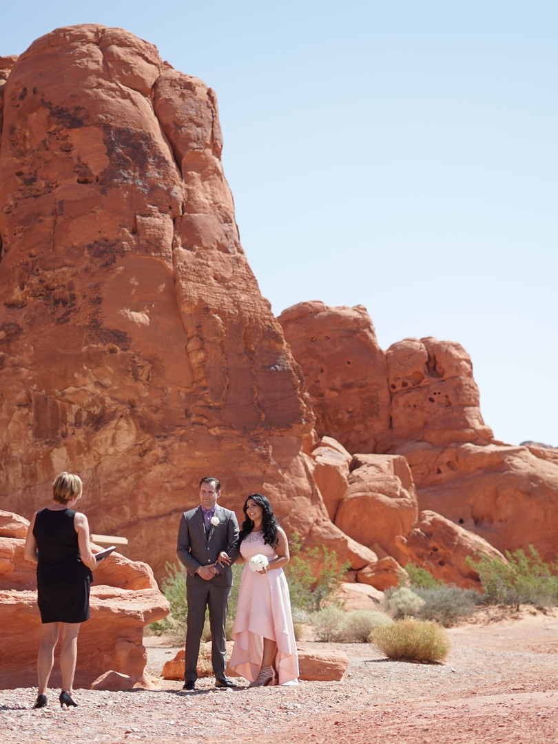 Heiraten im Valley of Fire