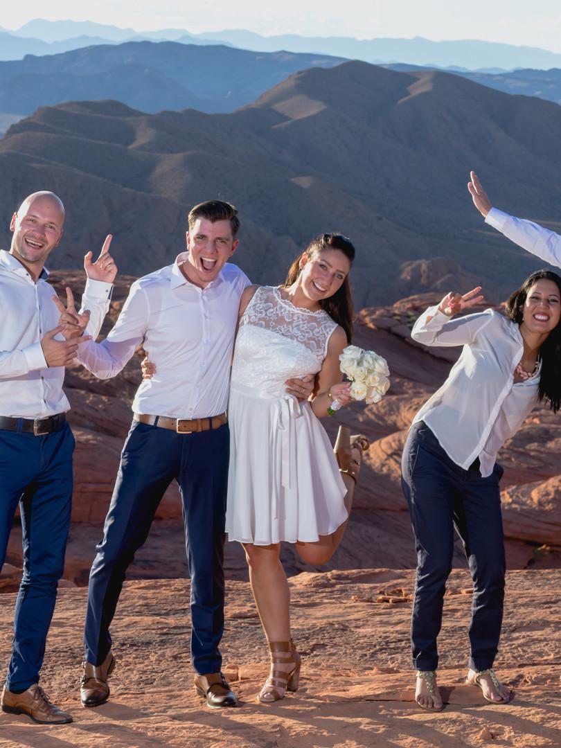 Das Valley of Fire - ein besonderer Ort zum heiraten!