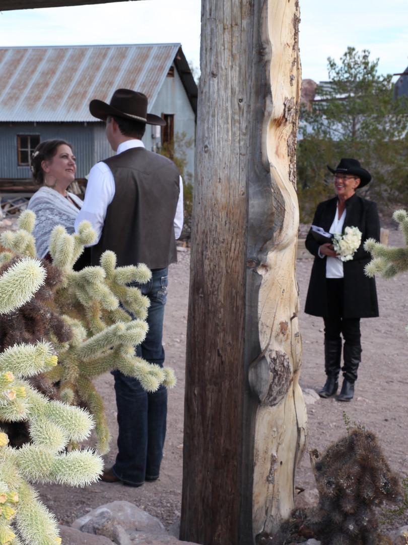 Westernhochzeit im Eldorado Canyon