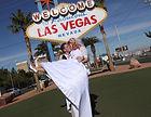 Hochzeit am Las Vegas Welcome Sign