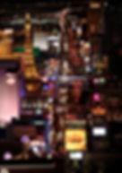 Nachftflugzeremonie über Las Vegas