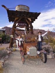 Heiraten im Eldorado Canyon im Westernstil
