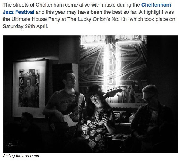 Cheltenham jazz festival review