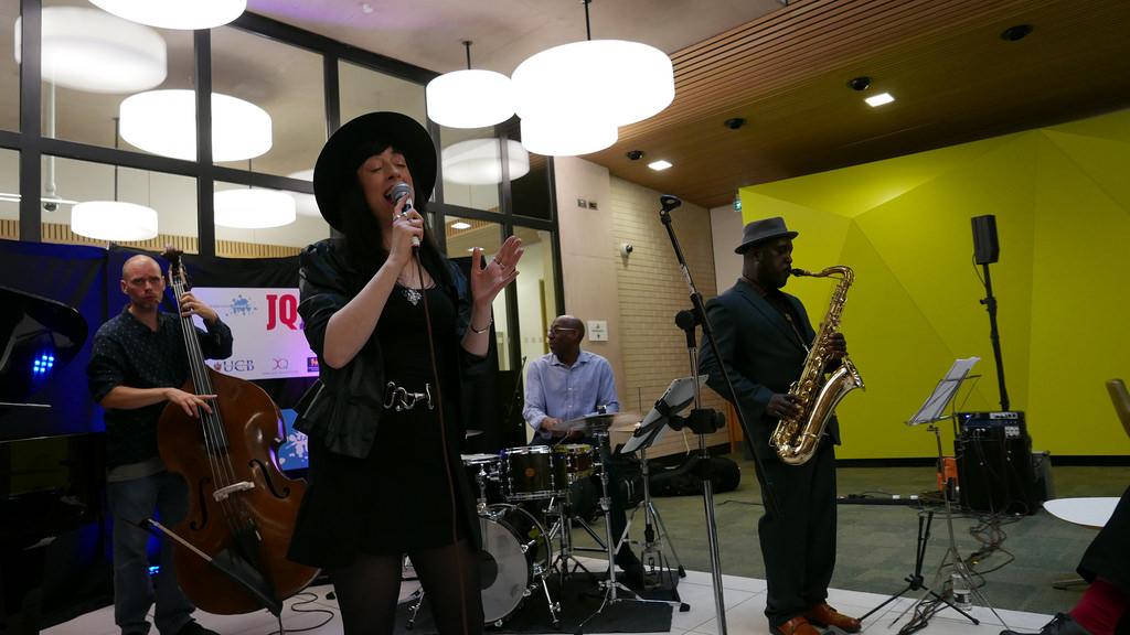 Monk Quintet Bham Jazz fest
