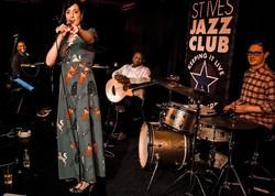 Neon Villages St Ives jazz club