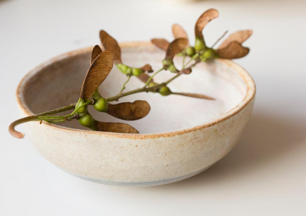 Bowl and ash seeds