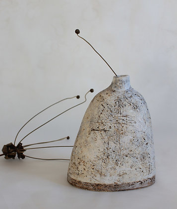 Chalk and Stone Vessel 3