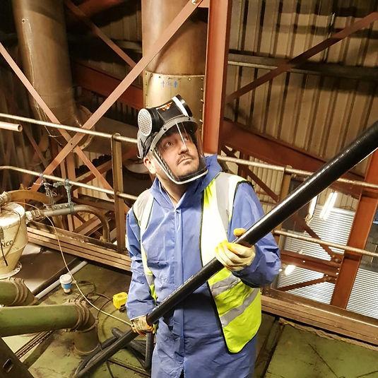 Spacevac High Level Clenaing & Inspection www.upnatemcleaning.co.uk