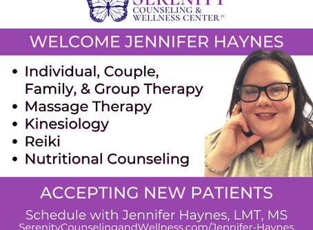 Therapist Jen Haynes Offers Kinesiology, Reiki, Nutritional Counseling & Massage Therapy Services