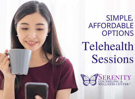 Is telehealth for me? Simple, affordable options at Serenity Counseling & Wellness Center