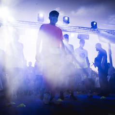 VI Running night