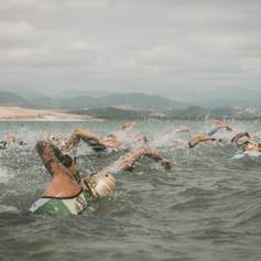 Salida de natación