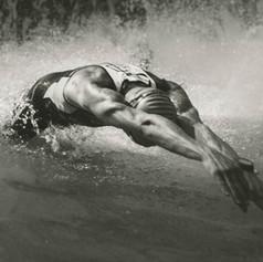Salto sobre agua