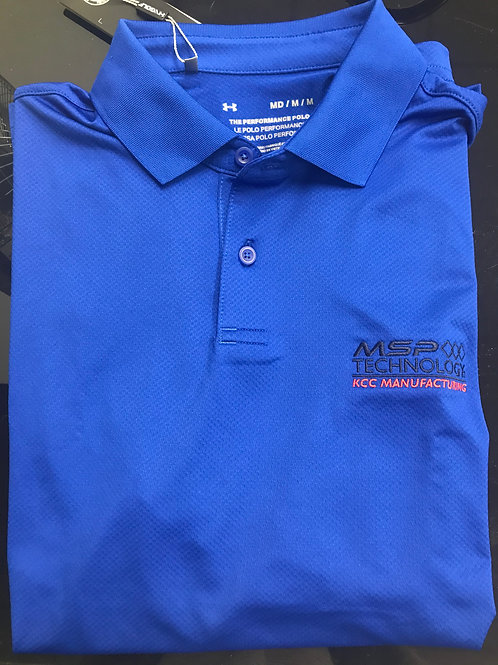 Under Armor MSP Polos-Assorted Colors Available