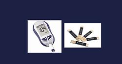 glicosimetro - medidor de glicose - tira