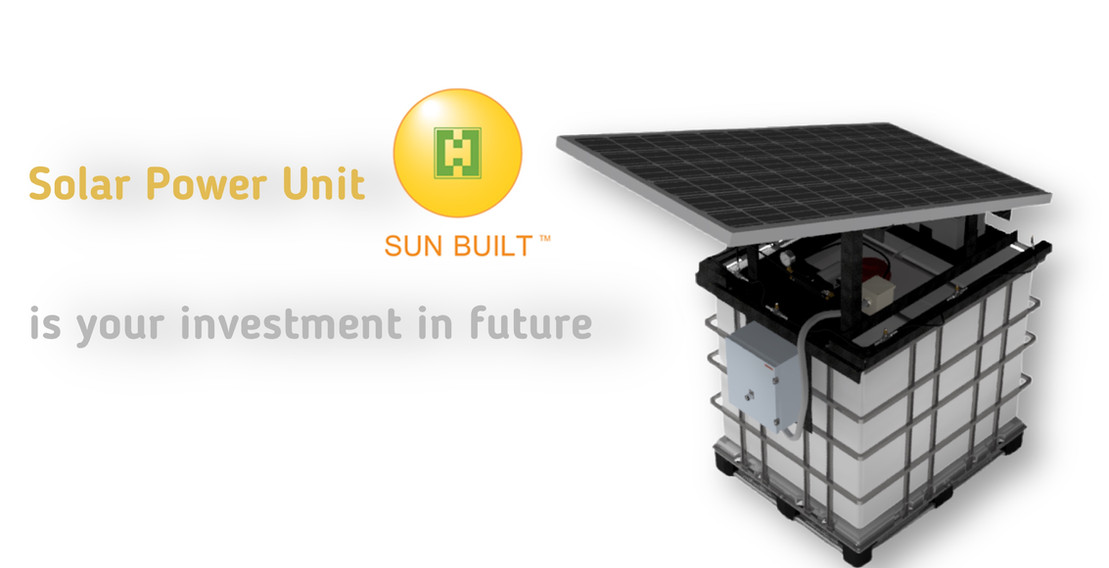 Solar Powered Spray Unit