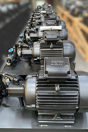 Horizontal Power Unit 10hp 10 gpm oil su