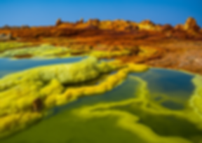 Dallol in Ethiopia's Danakil Depression