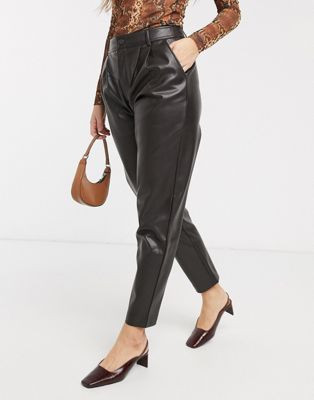 Leather trousers, the wearable guide to spring summer trends 2020, the image tree blog